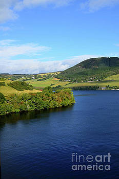 A Beautiful Day Over Loch Ness and the Scottish Highlands by DejaVu Designs