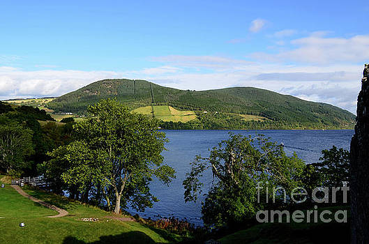 A Beautiful Look at the Rolling Hills Surrounding Loch Ness by DejaVu Designs