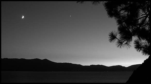 A Beautiful South Lake Tahoe Summer Night by Brad Scott