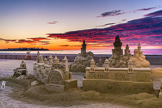 A Beautiful Sunrise at the Sand Castles by Devin LaBrie