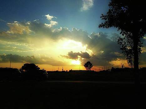 A Beautiful Texas Sunset! #sunset by Percy Bohannon