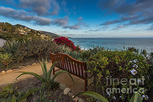 A bench with a view by Gregory Lee Schaffer
