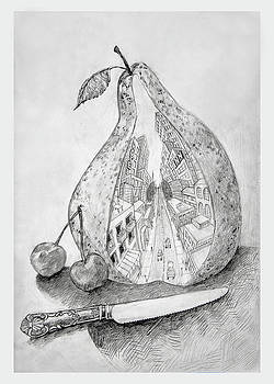 A Big Pear by Ellan Suder