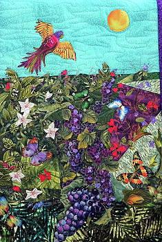 A Bird's Eye of the Rain Forest by Maureen Wartski