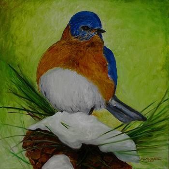 A Blue Bird for Jennifer by Richard Klingbeil