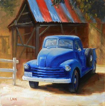 A Blue Chevrolet by Ningning Li