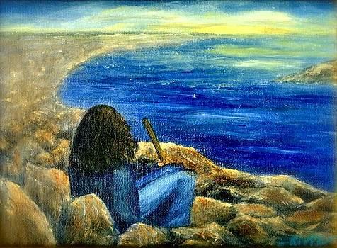 A Blue Day by Gail Kirtz
