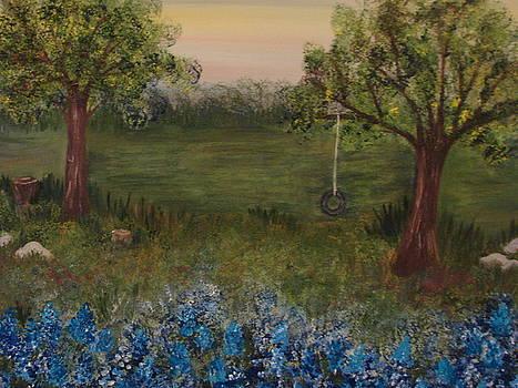 A Bluebonnet Swing by Shiana Canatella