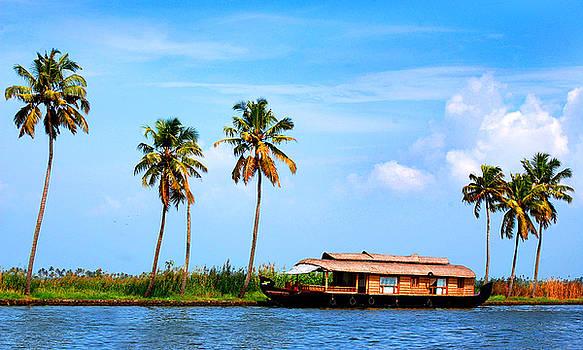 A boat at halt by Farah Faizal