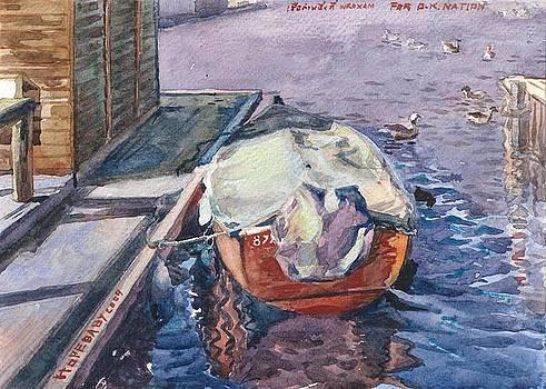 A boat at Wroxham Norfolk England. by Hopebaby Pradit