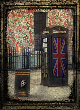 A booth a Bin and Liberty Flowers by Sonia Stewart