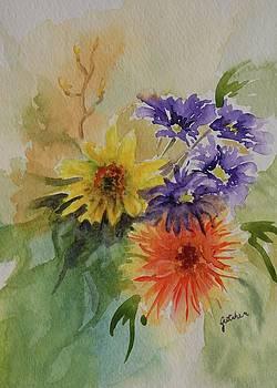 A Bouquet by Gretchen Bjornson