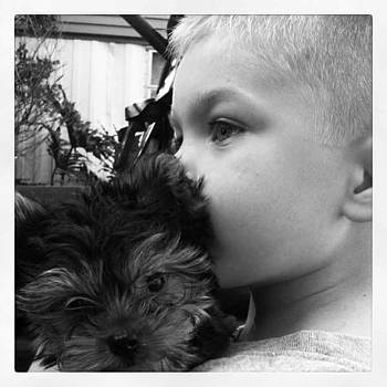 A Boy And His Dog! #big Bro #family by Gin Young