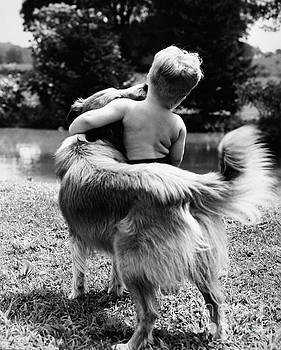 H Armstrong Roberts ClassicStock - A Boy And His Dog, C. 1950s