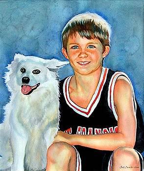 A Boy And His Dog by Gail Zavala