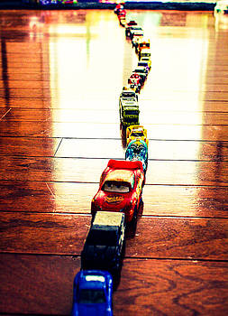 A Boy's Cars by Stacey Rosebrock