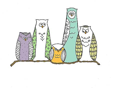 A Branch of Owls by Jayme Kinsey