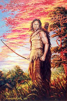 A Breadwinner. A Hunter. A Warrior. by Irina Sumanenkova