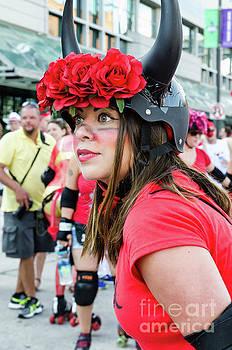 Kathleen K Parker - A Bull Awaits Her Next Runner