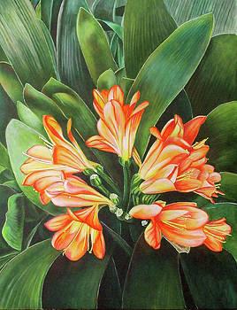 A Burst of Orange by Suzahn King