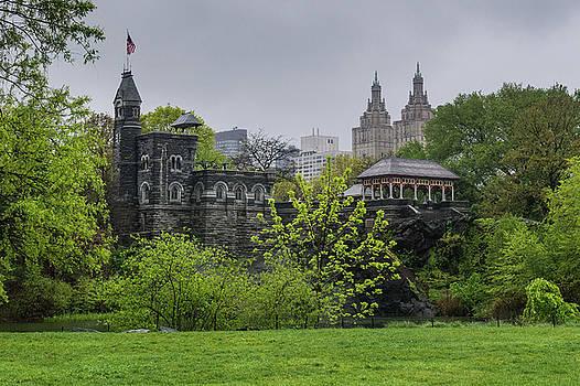 A Castle in The Park by Cornelis Verwaal
