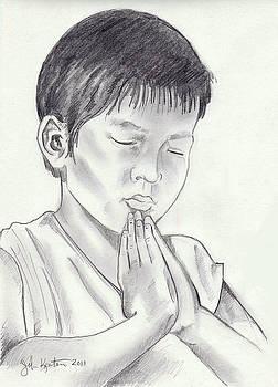 A Child's Prayer by John Keaton