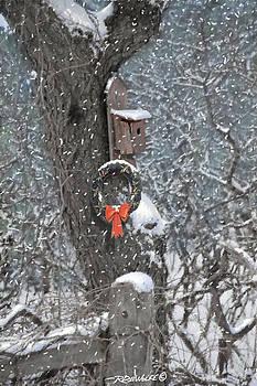 Richard De Wolfe - A Christmas Bird House