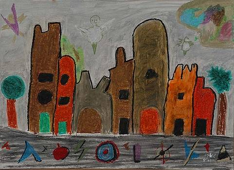 A Child's View of Downtown by Harris Gulko