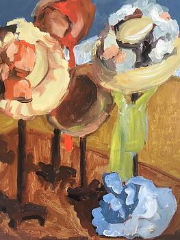 A Closer Look in the Millinery Shop by Susan E Jones