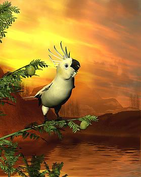 John Junek - A cockatoo in a tree