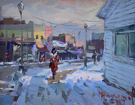 Ylli Haruni - A Cold Afternoon in Tonawanda