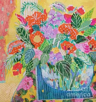 A Colorful Still Life by Rosemary Aubut