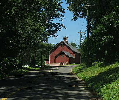 A Connecticut country road by Leonard Rosenfield