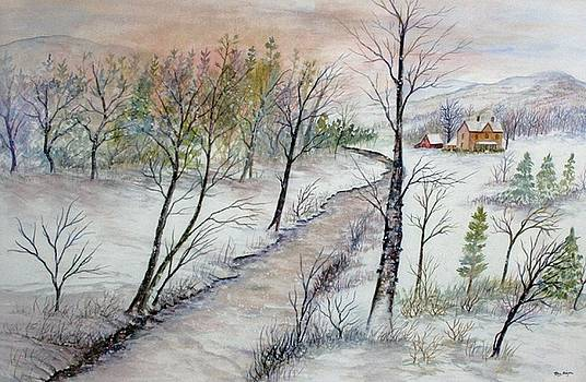 A Country Winter by Ben Kiger