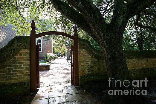 A Courtyard Entrance by Rachel Morrison