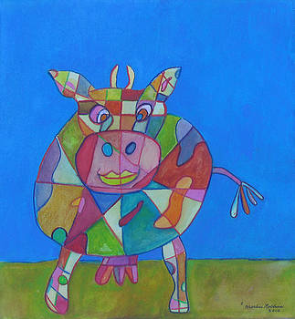 A Cow of Many Colors by Marlene Robbins