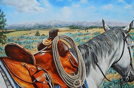 A Cowboy's View by Ruanna Sion Shadd a'Dann'l Yoder