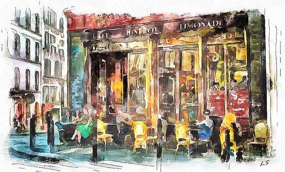 A cozy bistro in Paris by Sergey Lukashin