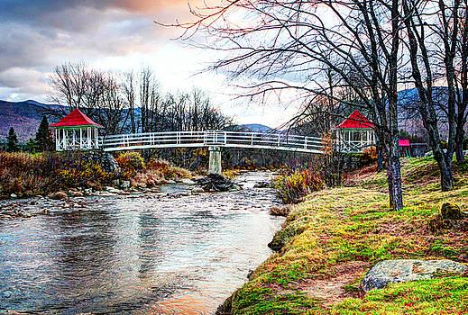 A Crossing Brenton Woods NH by Tom Prendergast