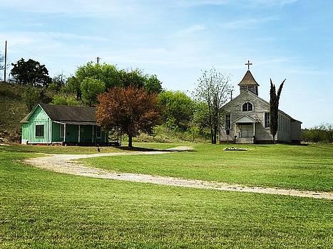A day at Church by Gary Bennett