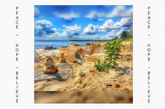 A Day at the Beach - Encouragement Cards by Linda Ouellette