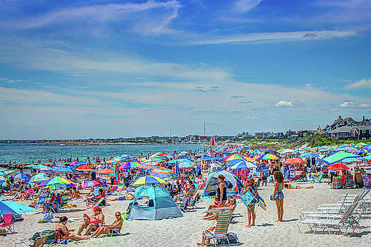 A Day at the Beach by Jerri Moon Cantone