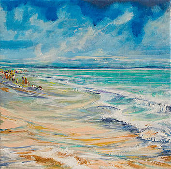 A Day At The Beach by Michele Hollister - for Nancy Asbell