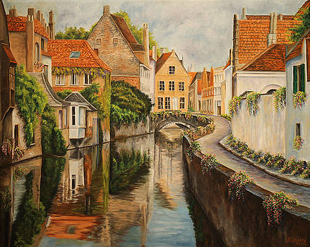 A Day in Brugge by Charlotte Blanchard