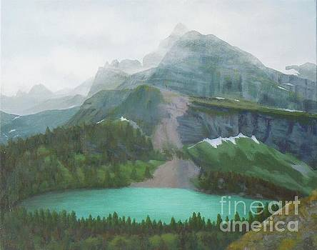 A Day in Glacier National Park by Phyllis Andrews