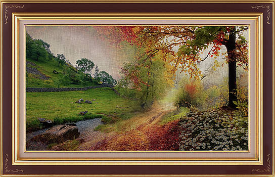 A Delightful Country Stream Montage by Clive Littin