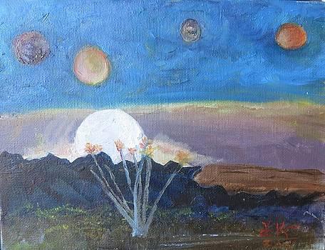 A Desert Runs Through by Debi K Baughman