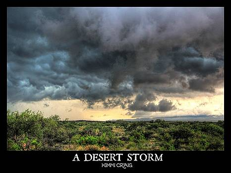 A Desert Storm by Kimmi Craig