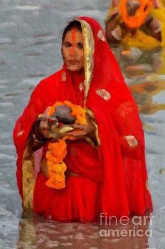 A Devotee  by Anil Sharma