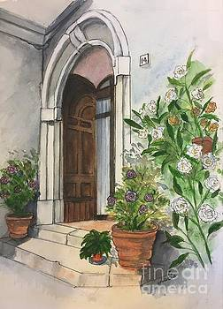 A Door in Castellucco, Italy by Lucia Grilletto